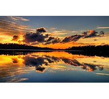 Nature's Paintbrush - Narrabeen Lakes,Sydney - The HDR Experience Photographic Print