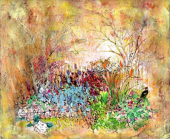 garden within  by annamora