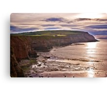 View Towards Boulby Canvas Print