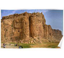 Naqsh-E Rostam - Necropolis - Single Tomb - Iran  Poster
