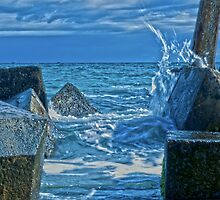 Liquid Silver at Freo. by Dejezza