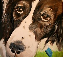 Mollie. 16 x 20 Acrylic Painting. by csoccio100