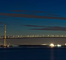 Dartford Bridge (Queen Elizabeth II Bridge) Two by Darren Bell