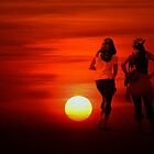 Friends Sunset by thefinalmiracle