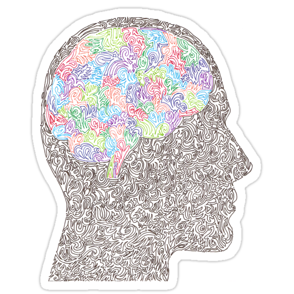 Brain Waves in Technicolor by Asher Intebi