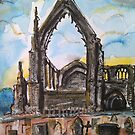 The priory ruins, Bolton Abbey by Martin Williamson (©cobbybrook)