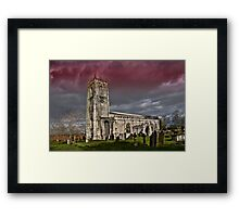 The priory church of St. Mary and St. Martin Framed Print