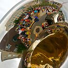 Reflections in a Tuba by Virginia Kelser Jones