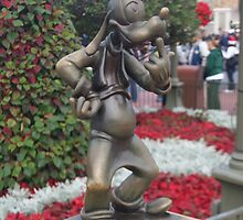 Bronze Disney Figure by vikki26