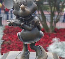 Bronze Disney Figure of Minnie Mouse by vikki26