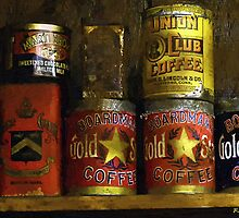 A Variety of Vintage Tins by RC deWinter
