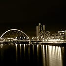 Glasgows' Clyde Arc by lumix