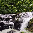 Gleno Waterfall in Northern Ireland by celticfae01