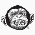 Smilin' Monkey by GeeHale
