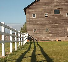 farm fence by shilohrachelle