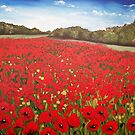 Poppy Panorama by Sally Ford
