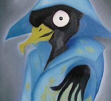 Electro-bird. by Lianne Oost