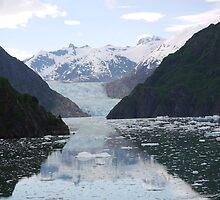 South Sawyer Glacier by BobWebb