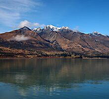 Lake Wakitipu looking to Walter Peak by Paula McManus