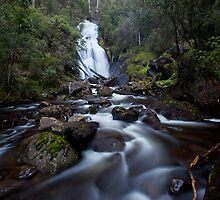 Snobs Creek Falls by Travis Easton