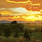 Glow Of The Colorado Countryside by John  De Bord Photography
