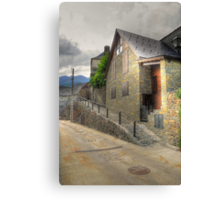 Lonely street in Canejan, Spain Canvas Print