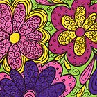 Flower Power2 by Rosie Brown