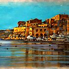 Painting of Maltese scenery by Edgar023