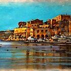 Painting of Maltese scenery by Edgar023