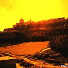 Sunset at Rabat Malta by Edgar023