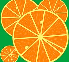 Oranges backround by Laschon Robert Paul