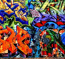 Graffiti Daze 2 by Ash Walani