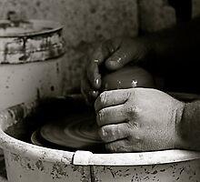 A Potter's Hands by Virginia Kelser Jones
