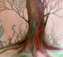 Wintery Wood by Rebecca Tripp