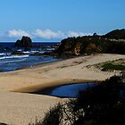 GlassHouse Rocks  Beach #8, Narooma by Evita