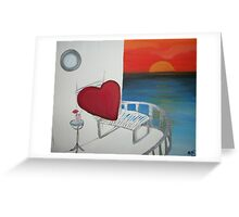 Love is Not Dead, It's on Vacation Greeting Card