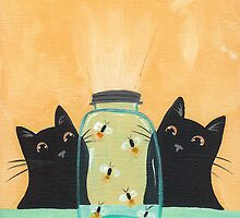 Fireflies in the Mason Jar by Ryan Conners