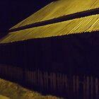 Sofala Main Street Golden Night Light by sofalansw