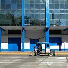 Peruvian Taxi by Valentina Silva