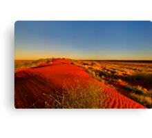 The dune Canvas Print