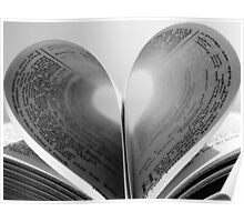 The love of books  Poster