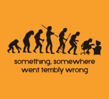 Something somewhere went terribly wrong - Black by buud