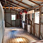 Country Shearing Shed by Jeff Reid