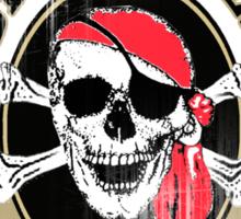 captain jacks rum runners Sticker