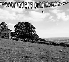 Roaches, over looking Tittesworth reservoir by Elaine123