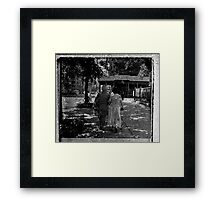"""the oldest and dearest of friends"" Framed Print"