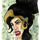 Amy Winehouse by Marie-Elena
