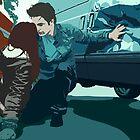 Twilight: Edward rescues Bella by macdougal