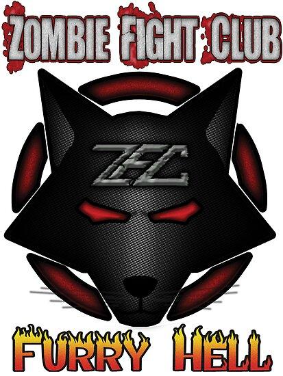 quotzombie fight club logoquot by psyrecx redbubble