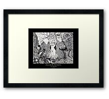 """A Look Inside II """"The Mother"""" Framed Print"""